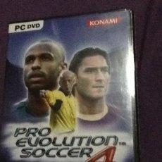 Videojuegos y Consolas: PRO EVOLUTION SOCCER 4. DVD-ROM NUEVO PRECINTADO. Lote 143110538