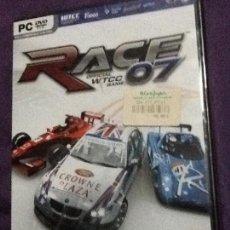 Videojuegos y Consolas: RACE 07 OFFICIAL WTCC- PAL/SPA PC PRECINTADO. Lote 143110878