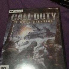 Videojuegos y Consolas: CALL OF DUTY LA GRAN OFENSIVA EXPANSIÓN PACK JUEGO PC. Lote 143178798