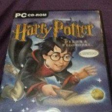 Videojuegos y Consolas: HARRY POTTER Y LA PIEDRA FILOSOFAL PC CD ROM JUEGO VIDEOJUEGO. Lote 143179138
