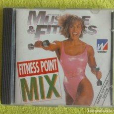 Videojuegos y Consolas: FITNEES POINT MIX COMPACT DISC DIGITAL AUDIO 1996- EDITOR RAFAEL SANTONJA. Lote 143185842