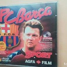 Videojuegos y Consolas: VIDEOJUEGO PC BARÇA TEMPORADA 97/98 - 1 CD ROM FUTBOL CLUB BARCELONA. Lote 143193246