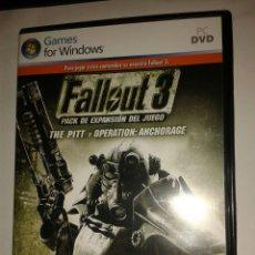 Videojuegos y Consolas: FALLOUT 3 PACK DE EXPANSION DEL JUEGO PC. Lote 143195094