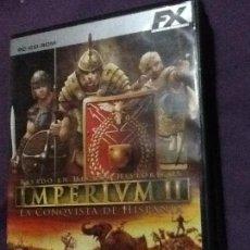 Videojuegos y Consolas: IMPERIUM II JUEGO PC. Lote 143206270