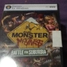Videojuegos y Consolas: JUEGO P C MONSTER MADNESS BATTLE FOR SUBURBIA. Lote 143255978