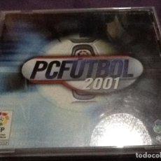 Videojuegos y Consolas: PC FÚTBOL 2001 - JUEGO PC DINAMIC . Lote 143345778