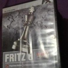 Videojuegos y Consolas: FRITZ 6 - JUEGO PC - FX INTERACTIVE -. Lote 143499342