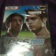 Videojuegos y Consolas: PES 2008 PC NUEVO PRECINTADO. Lote 143537062