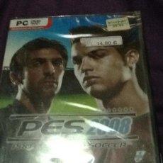 Videojuegos y Consolas: PES 2008 PC NUEVO PRECINTADO. Lote 143537118