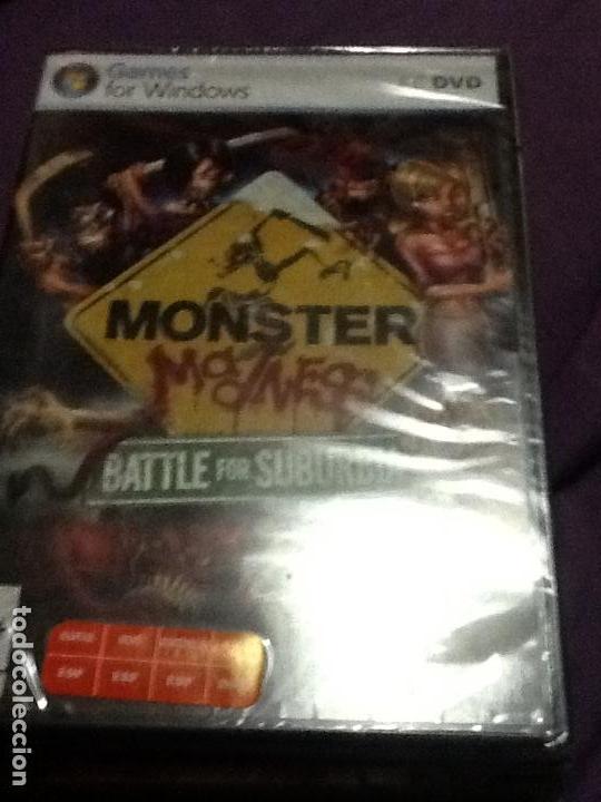 PC MONSTER MADNESS BATTLE FOR SUBURBIA PAL ESP NUEVO PRECINTADO (Juguetes - Videojuegos y Consolas - PC)