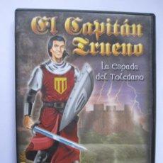 Videojuegos y Consolas: EL CAPITÁN TRUENO, LA ESPADA DEL TOLEDANO, JUEGO PC CD ROM ZETA GAMES. Lote 143606190