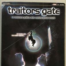 Videojuegos y Consolas: JUEGO PARA PC, TRAITORS GATE, LA AVENTURA GRÁFICA MÁS REALISTA JAMÁS CREADA. Lote 143616886