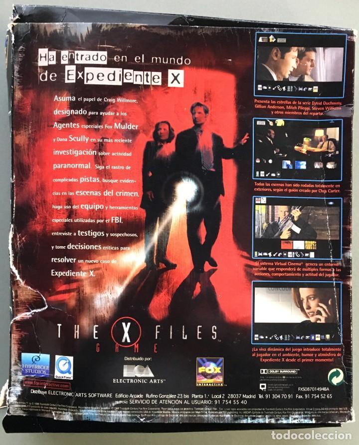 Videojuegos y Consolas: JUEGO PARA PC, THE X FILES, TRADUCIDO Y DOBLADO AL CASTELLANO - Foto 4 - 143617858