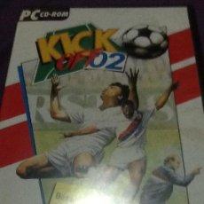 Videojuegos y Consolas: KICK OFF 2 JUEGO PC CD-ROM COMPLTO EDICION ESPAÑOLA. Lote 143655902