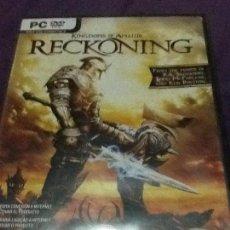 Videojuegos y Consolas: KINGDOMS OF AMALUR: RECKONING. Lote 143657402