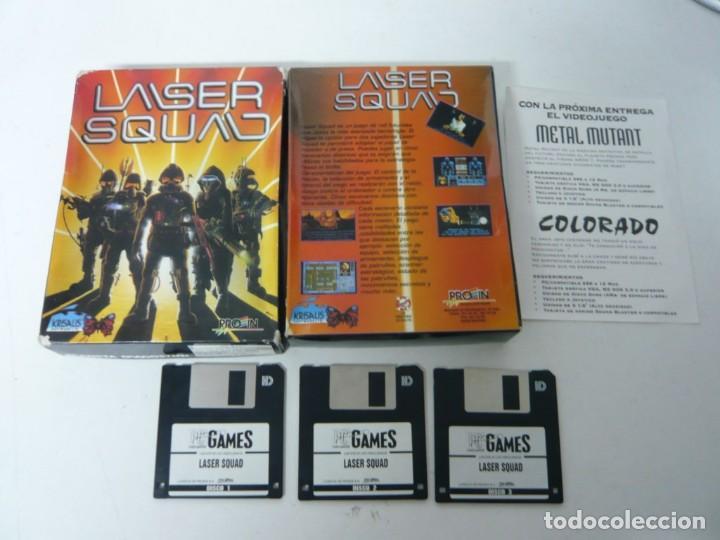 LASER SQUAD / IBM PC / RETRO VINTAGE / DISCO - DISKETTE / CLÁSICO (Juguetes - Videojuegos y Consolas - PC)