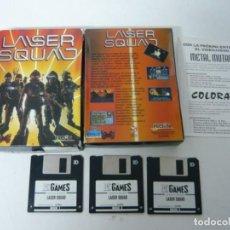 Videojuegos y Consolas: LASER SQUAD / IBM PC / RETRO VINTAGE / DISCO - DISKETTE / CLÁSICO . Lote 143658738