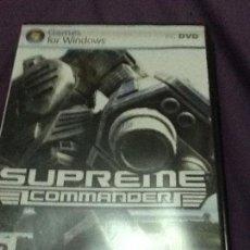 Videojuegos y Consolas: JUEGO PC 'SUPREME COMMANDER', TOTALMENTE EN CASTELLANO.. Lote 143664218