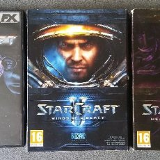 Videojuegos y Consolas - Starcraft Wings of Liberty Heart of the Swarm Expansion - 143824258
