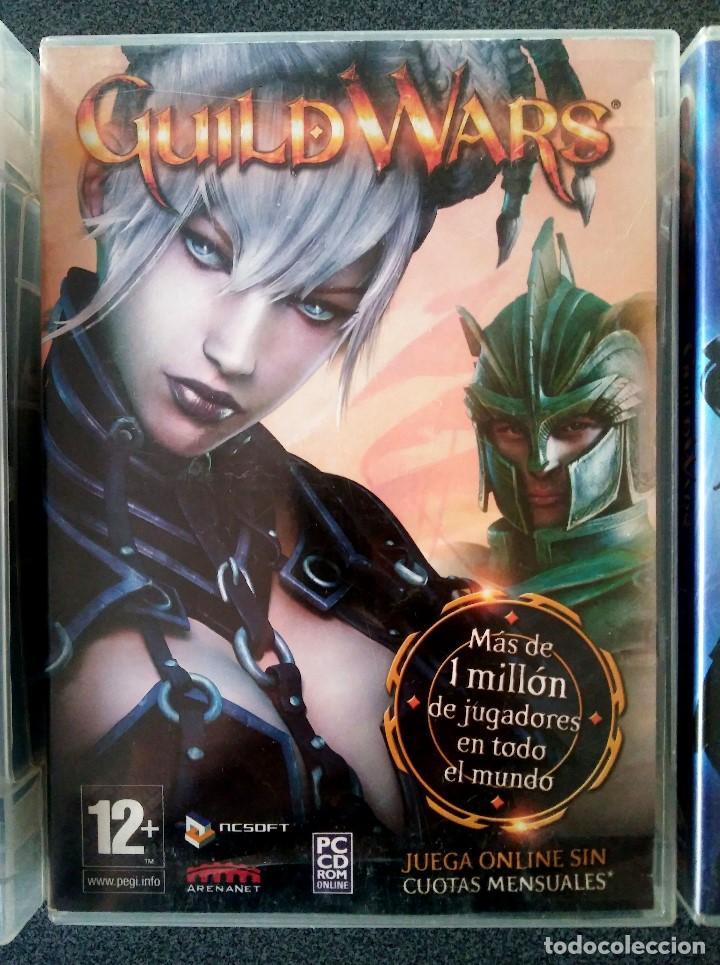 Videojuegos y Consolas: Guild Wars Nightfall Factions - Foto 2 - 143825106
