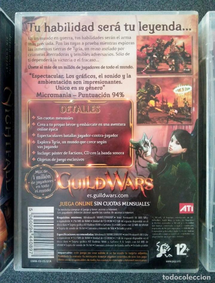 Videojuegos y Consolas: Guild Wars Nightfall Factions - Foto 4 - 143825106