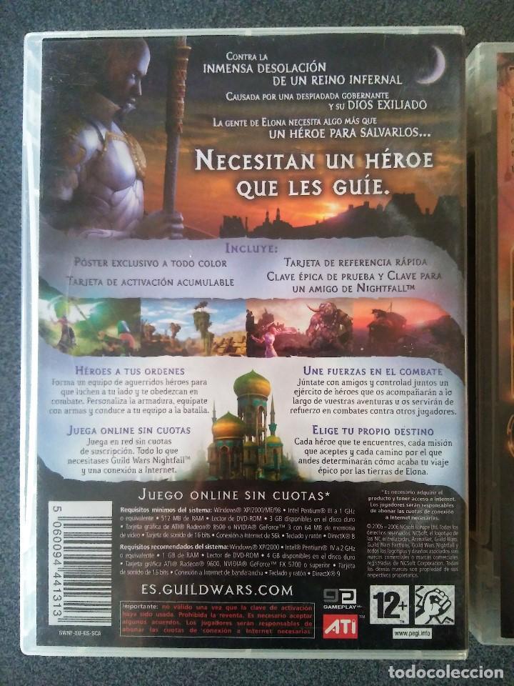 Videojuegos y Consolas: Guild Wars Nightfall Factions - Foto 7 - 143825106