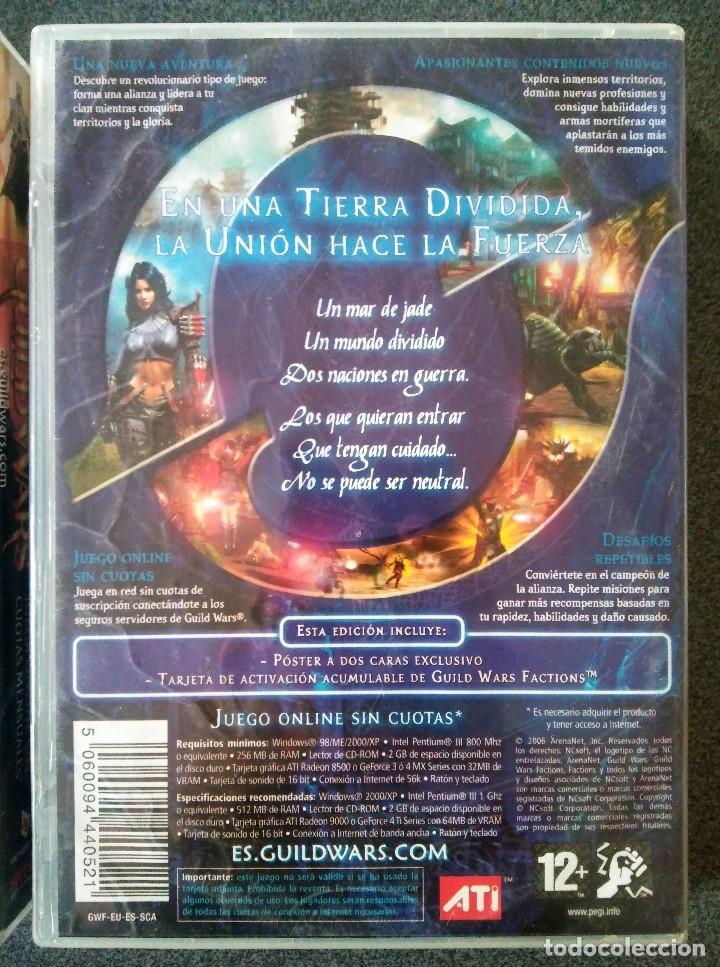 Videojuegos y Consolas: Guild Wars Nightfall Factions - Foto 10 - 143825106