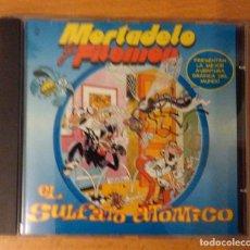 Videojuegos y Consolas: EL SULFATO ATOMICO - UNA AVENTURA DE MORTADELO Y FILEMON - CDROM - 1998. Lote 144015686