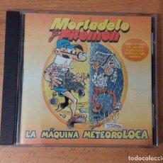 Videojuegos y Consolas: LA MAQUINA METEREOLOCA - UNA AVENTURA DE MORTADELO Y FILEMON - CDROM - 1999. Lote 144015874