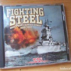 Videojuegos y Consolas: FIGHTING STEEL. JUEGO CLASICO PARA PC WINDOWS. ESTRATEGIA SIMULACION COMBATE NAVAL. Lote 144066694