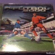 Videojuegos y Consolas: JUEGO PARA PC FUTBOL 2000 DINAMIC. Lote 144108638