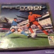 Videojuegos y Consolas: JUEGO PARA PC FUTBOL 2000 DINAMIC. Lote 144108670
