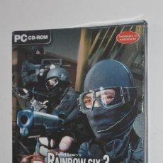 Videojuegos y Consolas: JUEGO PC TOM CLANEY'S RAINBOW SIX 3 RAVEN SHIELD 2003 RED STORM UBISOFT ACCIÓN AVENTURA CAJA CARTÓN. Lote 144563990