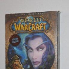 Videojuegos y Consolas: JUEGO PC WORLD OF WARCRAFT 2006 BLIZZARD ENTERTAINMENT AVENTURA ROL ONLINE CAJA CARTÓN. Lote 144568670