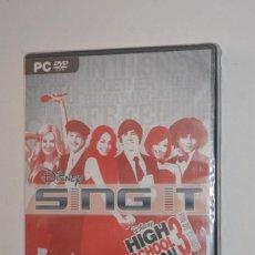 Videojuegos y Consolas: JUEGO PC HIGH SCHOOL MUSICAL 3 FIN DE CURSO SIGN IT 2008 WALT DISNEY INTERACTIVE STUDIOS ATARI. Lote 144572614