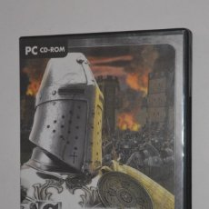 Videojuegos y Consolas: JUEGO PC CASTLE STRIKE 2004 RELATED DESIGNS DATA BECKER ESTRATEGIA HISTÓRICA CASTILLOS MEDIEVALES. Lote 144597254