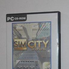 Videojuegos y Consolas: JUEGO PC SIM CITY 3000 1998 MAXIS EA ELECTRONIC ARTS SIMULADOR CREACIÓN CIUDADES VERSIÓN FRANCÉS. Lote 144598194