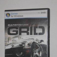 Videojuegos y Consolas: JUEGO PC RACEDRIVER GRID 2007 THE CODEMASTERS ATARI SIMULADOR CARRERAS DE COCHES CIRCUITOS EUROPA. Lote 144598698