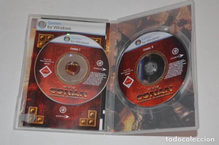 Videojuegos y Consolas: JUEGO PC AGE OF CONAN HYBORIAN ADVENTURES 2008 FUNCOM EIDOS ROL RPG ONLINE RODARÁN CABEZAS - Foto 2 - 144599102