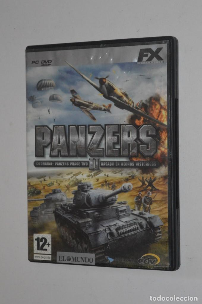 Pc 2005 Estrategia Entertainment Interactive Hechos Cdv Software Militar Fx Panzers Ii Juego b6yvIfY7g