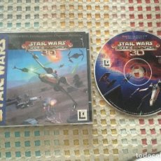 Videojuegos y Consolas: STAR WARS ROGUE SQUADRON 3D STARWARS STARS WAR KREATEN LUCAS ARTS PC CD ROM. Lote 144795602
