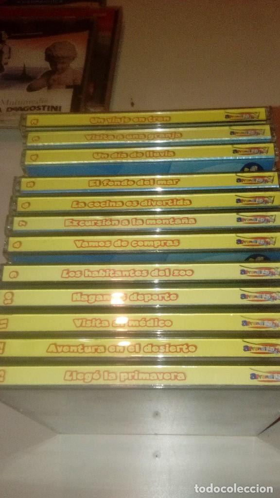 Videojuegos y Consolas: G-CEJA98 PC CD-ROM LOTE DE 12 CD APRENDI LUNNIS - Foto 2 - 145199330