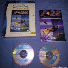 Videojuegos y Consolas: JUEGO PC IF 22 COMPLETO CAJA GRANDE DE CARTON. Lote 145446570