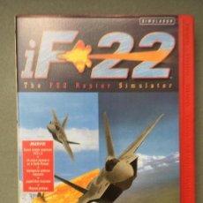 Videojuegos y Consolas: JUEGO-SIMULADOR IF 22, THE F22 RAPTOR SIMULATOR. Lote 145517550