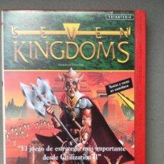 Videojuegos y Consolas: JUEGO DE ESTRATEGIA PARA PC, SEVEN KINGDOMS. Lote 145518342