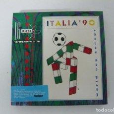 Videojuegos y Consolas: ITALIA 90 FÚTBOL - JUEGO PC RETRO - EN CAJA DE CARTÓN - BIG BOX - EN DISKETTES. Lote 145521106
