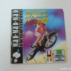 Videojuegos y Consolas: MOTORBIKE MADNESS - JUEGO PC RETRO - EN CAJA DE CARTÓN - BIG BOX - EN DISKETTES. Lote 145521210
