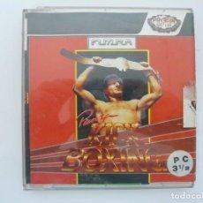 Videojuegos y Consolas: PANZA KICK BOXING / - JUEGO PC RETRO - EN CAJA DE CARTÓN - BIG BOX - EN DISKETTES. Lote 145521470