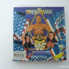 Videojuegos y Consolas: WWF / - JUEGO IBM PC RETRO - EN CAJA DE CARTÓN - BIG BOX - EN DISKETTES. Lote 145521902