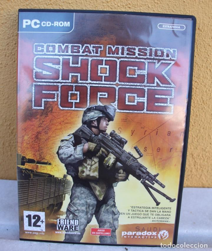 COMBAT MISSION SHOCK FORCE, PC CD-ROM (Juguetes - Videojuegos y Consolas - PC)